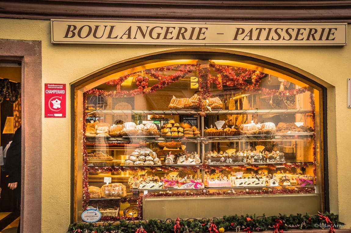 A bakery at Kaysersberg