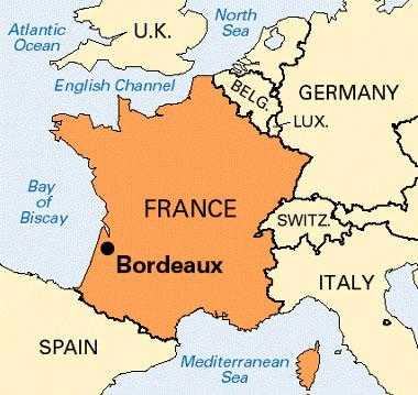 where is Bordeaux